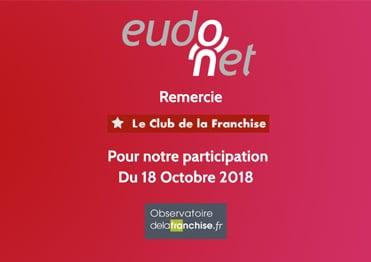 Eudonet CRM était au dernier Club de la Franchise