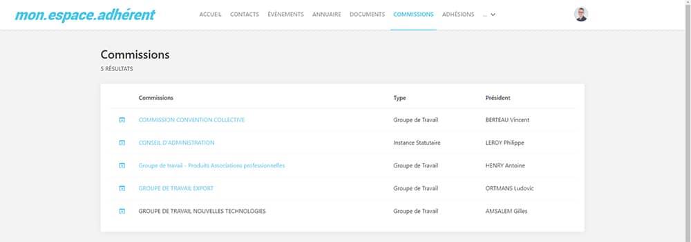 logiciel CRM association Eudonet