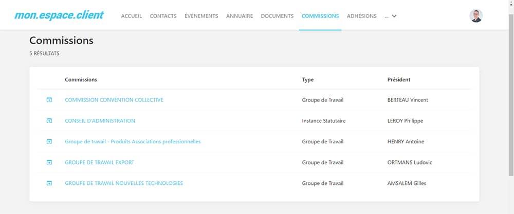logiciel extranet et intranet Eudonet