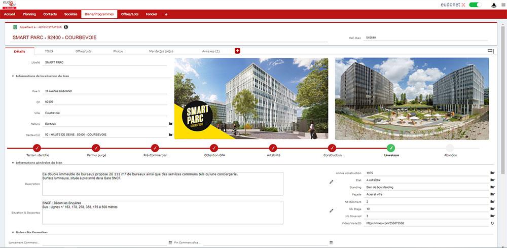 logiciel de promotion immobilière et promoteurs