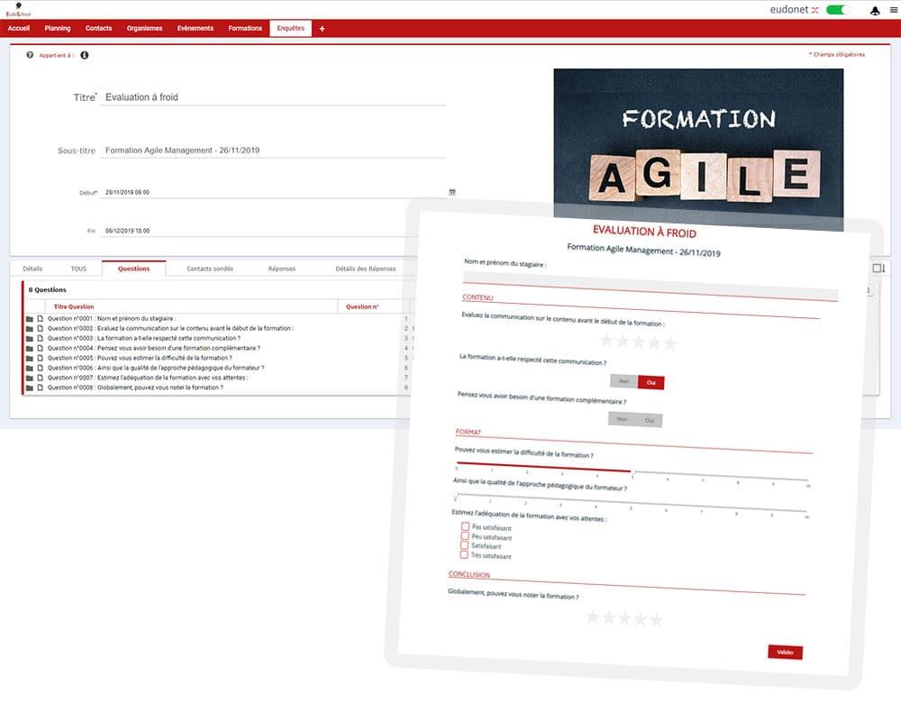 logiciel gestion formation