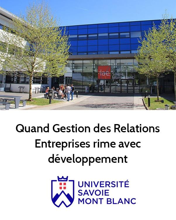 Témoignage client Université Savoie Mont Blanc